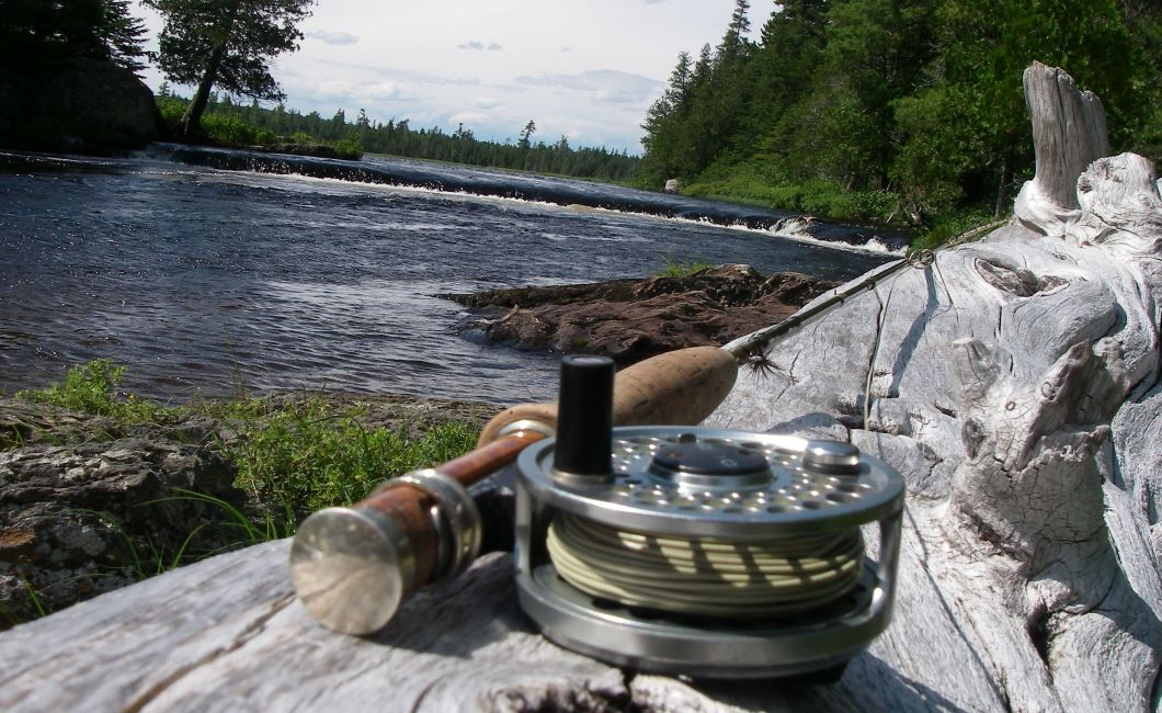 flyrod reel & log